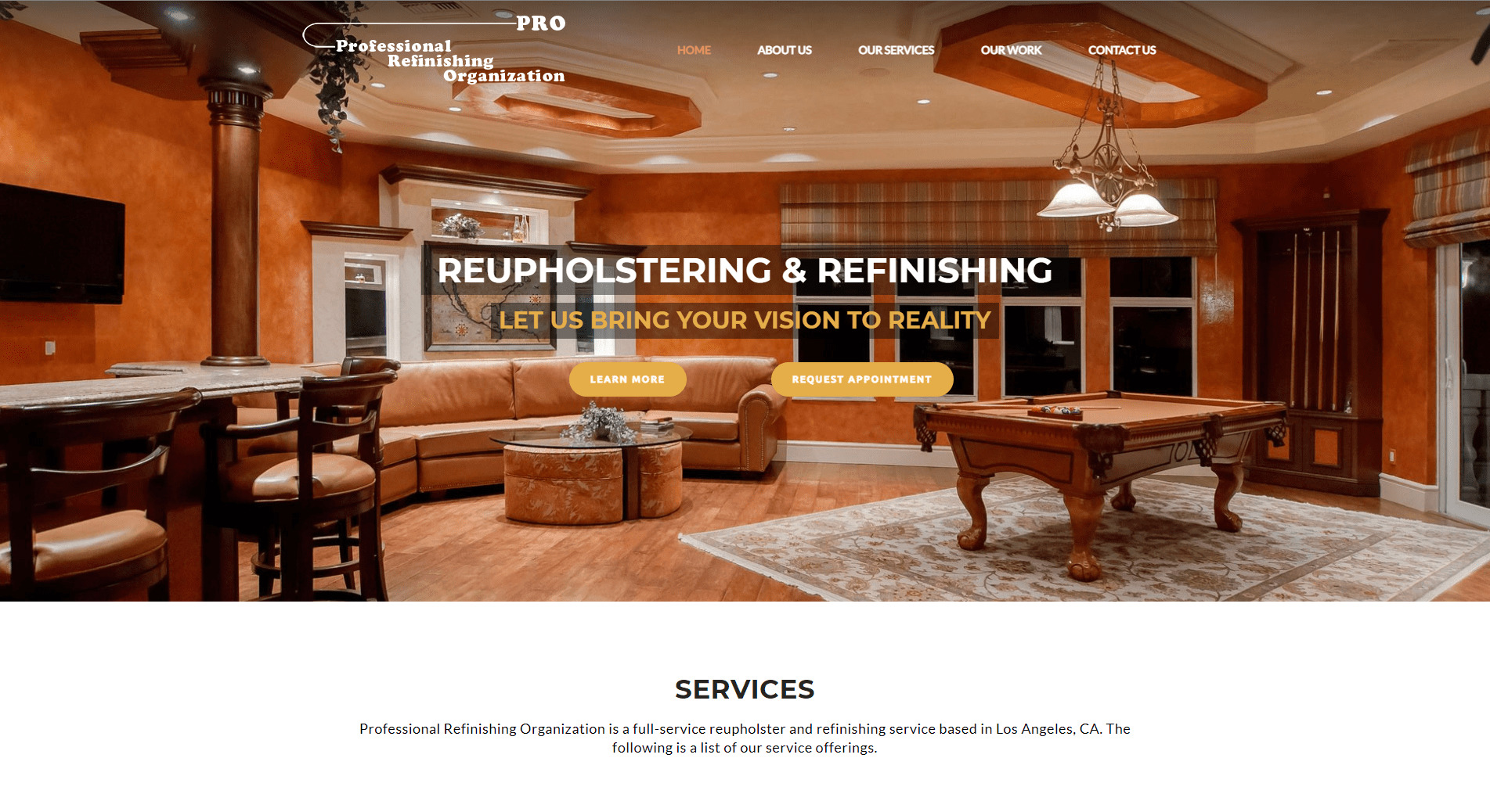 Professional-Refinishing-Organization-–-A-full-service-reupholster-and-refinishing-service-based-in-Los-Angeles-CA